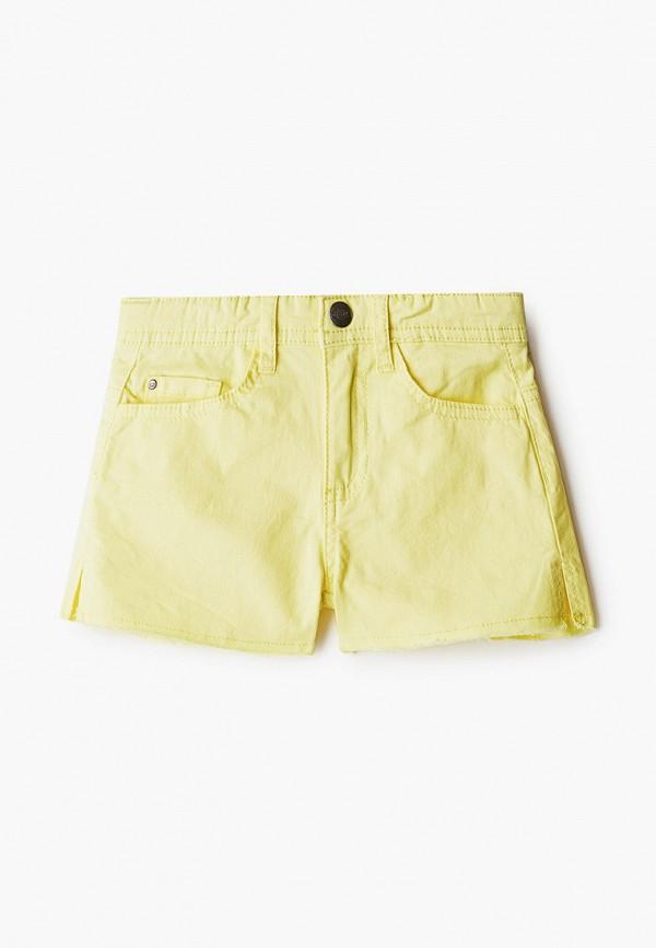 шорты code для девочки, желтые