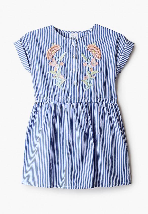повседневные платье code для девочки, синее