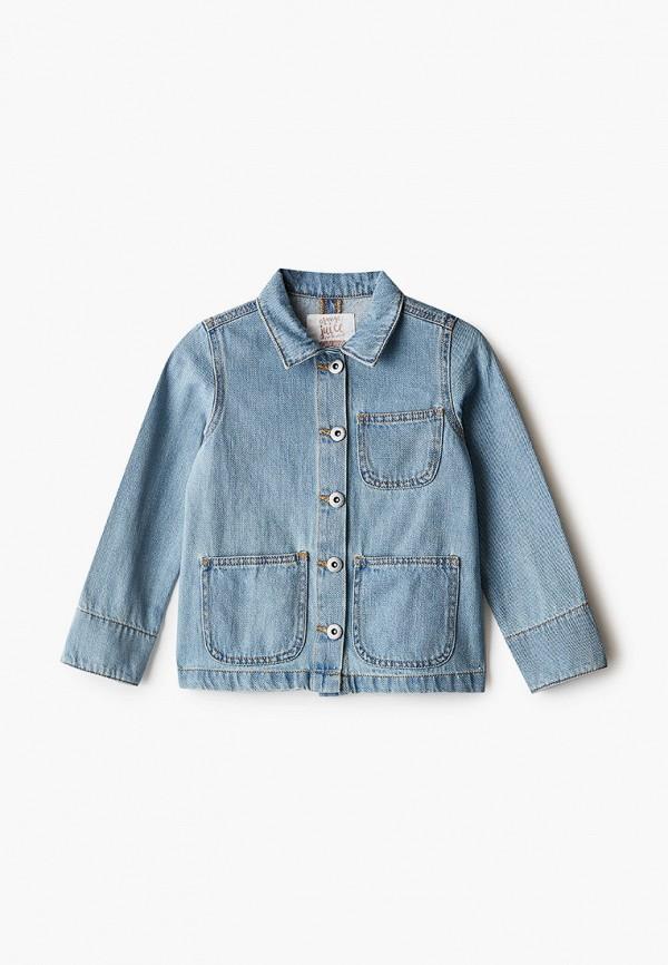 джинсовые куртка code для девочки, синяя
