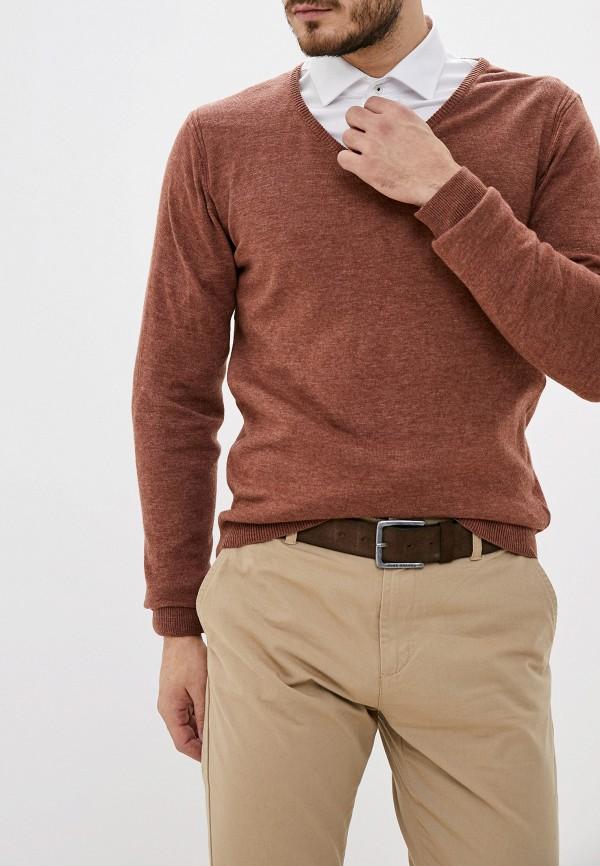 мужской пуловер code, коричневый