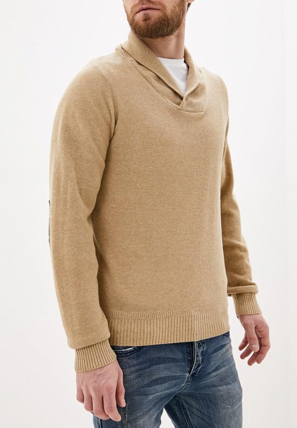 мужской пуловер code, бежевый