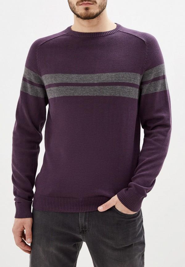 мужской джемпер code, фиолетовый