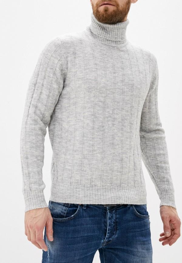 мужской свитер code, серый