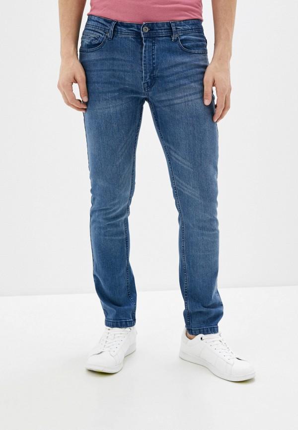 мужские зауженные джинсы code, синие
