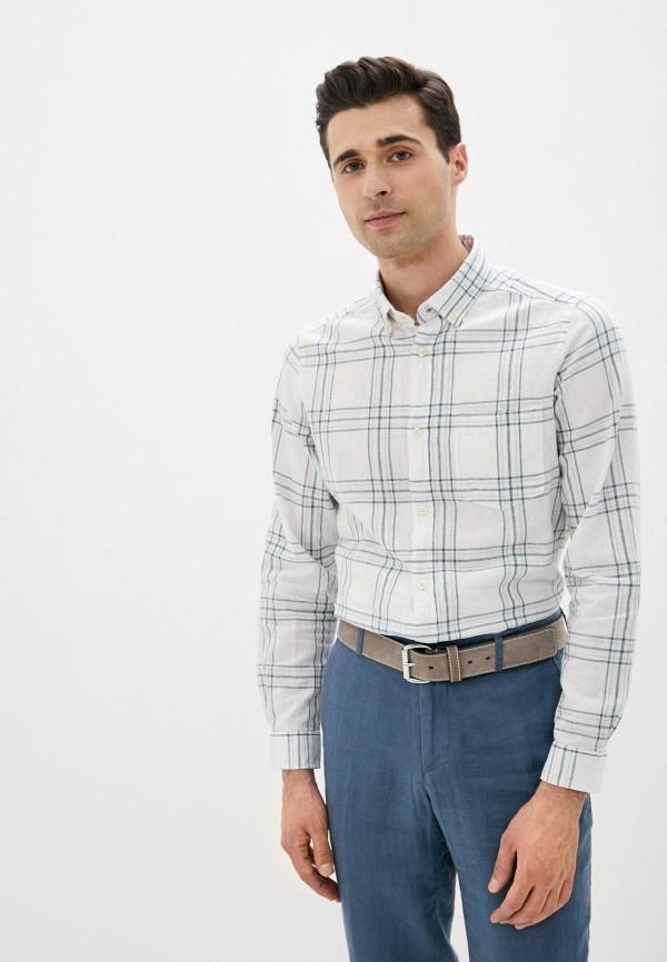 мужская рубашка с коротким рукавом code, белая