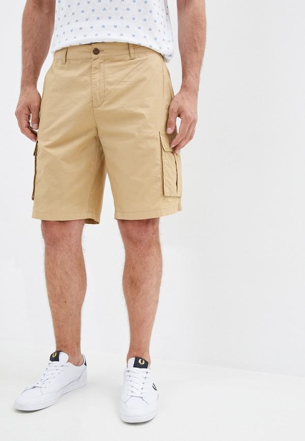 мужские повседневные шорты code, бежевые