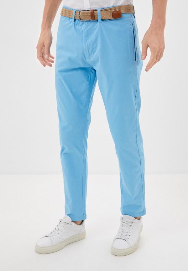 мужские брюки чинос code, голубые