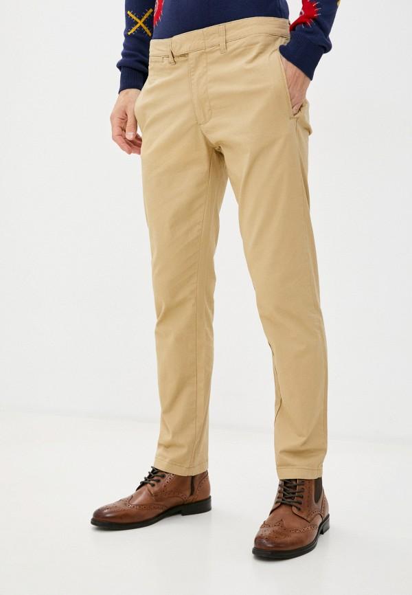 мужские брюки чинос code, бежевые
