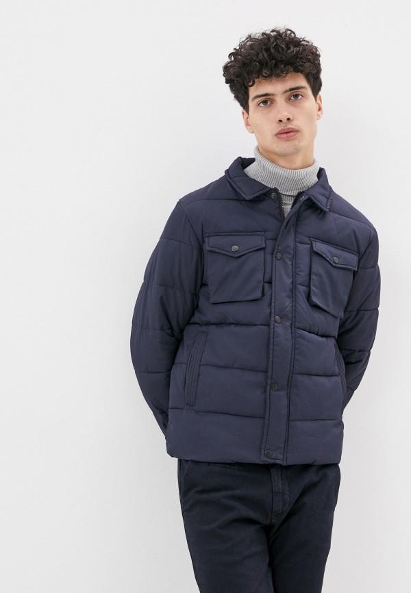 мужская куртка code, синяя