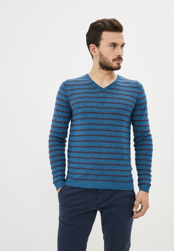 мужской пуловер code, синий