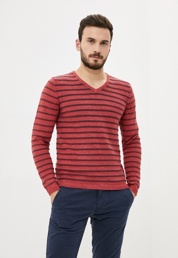 мужской пуловер code, красный