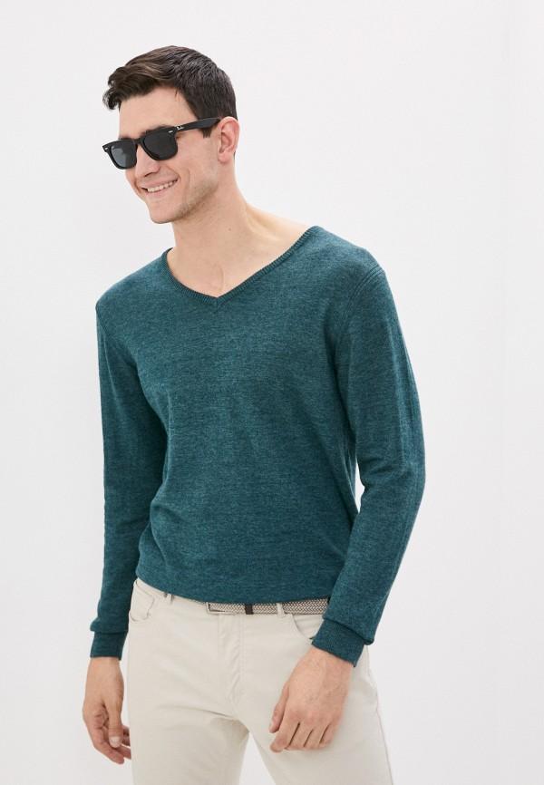 мужской пуловер code, зеленый