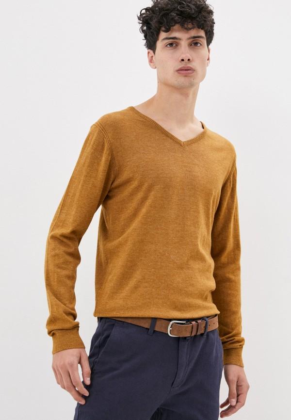 мужской пуловер code, желтый