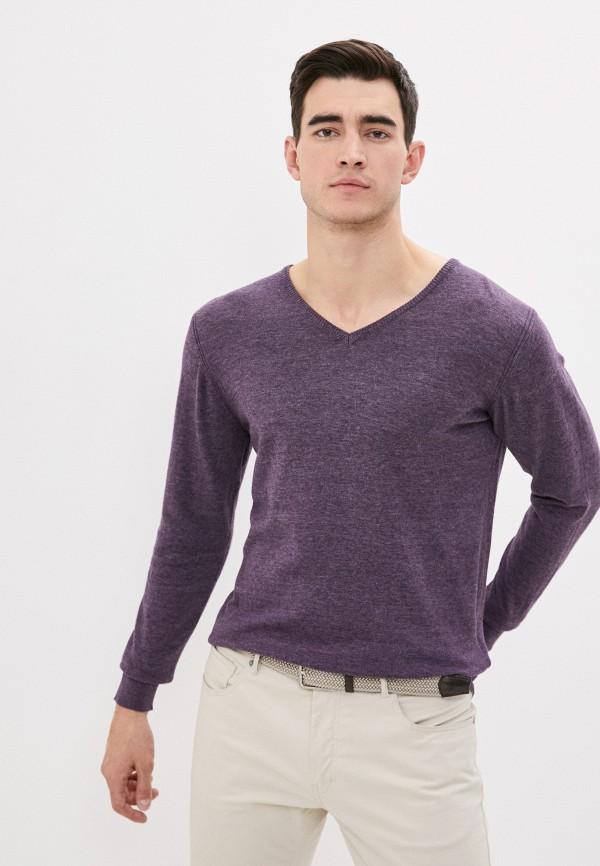 мужской пуловер code, фиолетовый