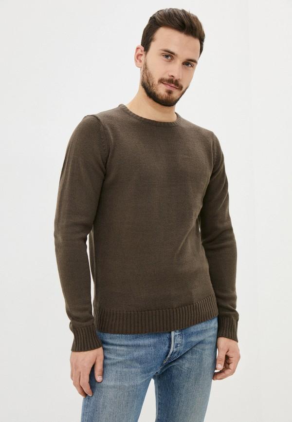 мужской джемпер code, коричневый
