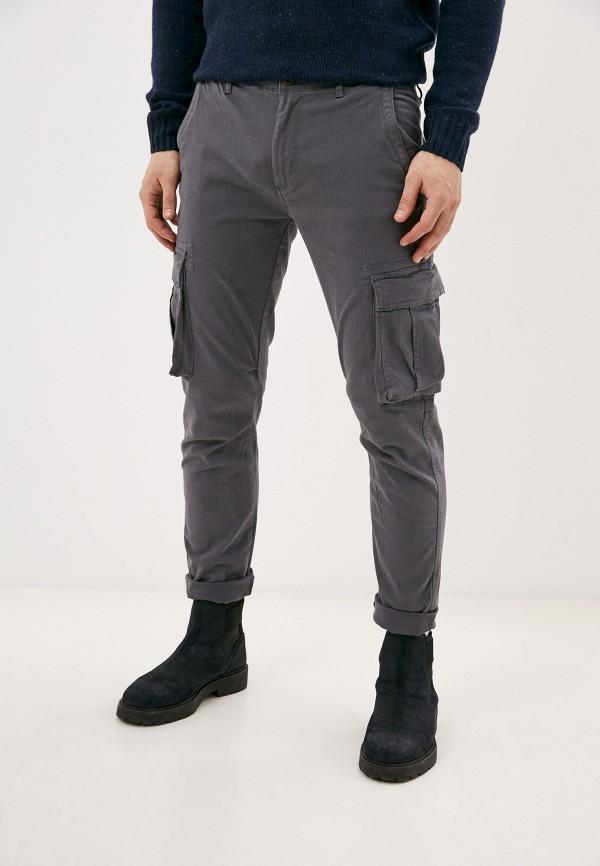 мужские повседневные брюки code, серые