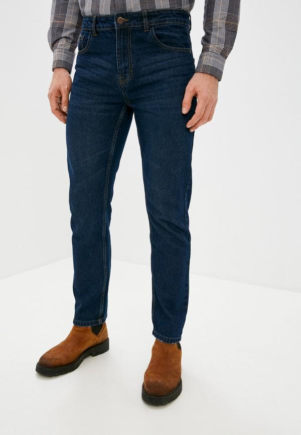 мужские прямые джинсы code, синие