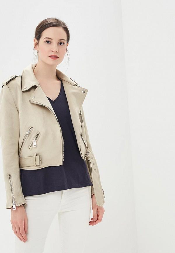 Купить Куртка кожаная Code, CO073EWBYZP6, серый, Осень-зима 2018/2019