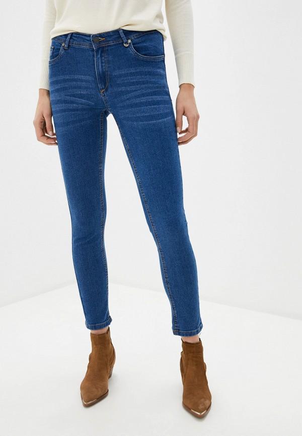 женские джинсы code, голубые