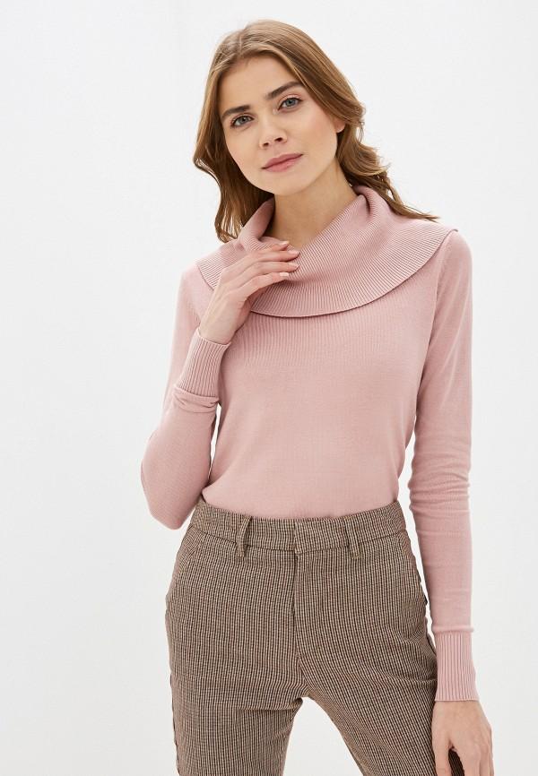женский свитер code, розовый