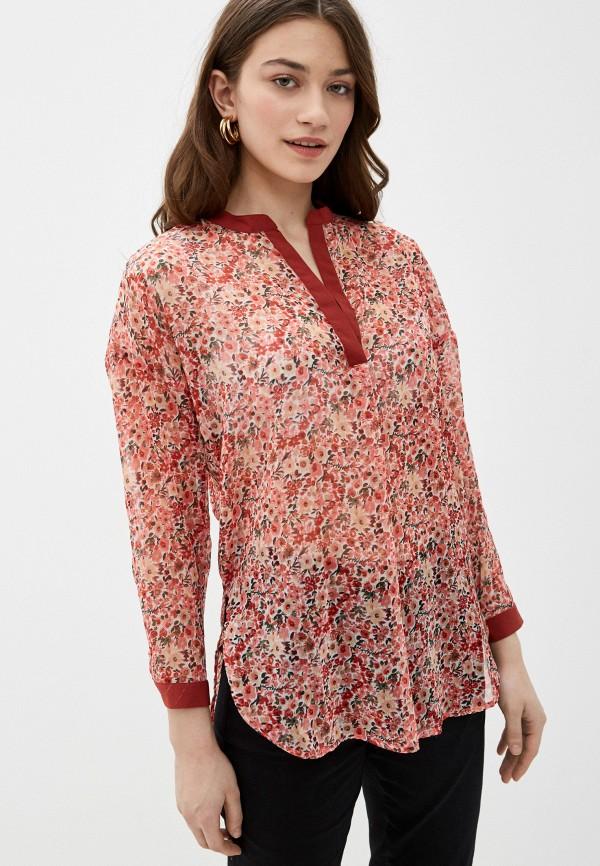 женская блузка code, розовая