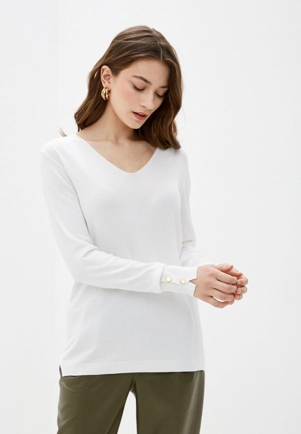 женский пуловер code, белый