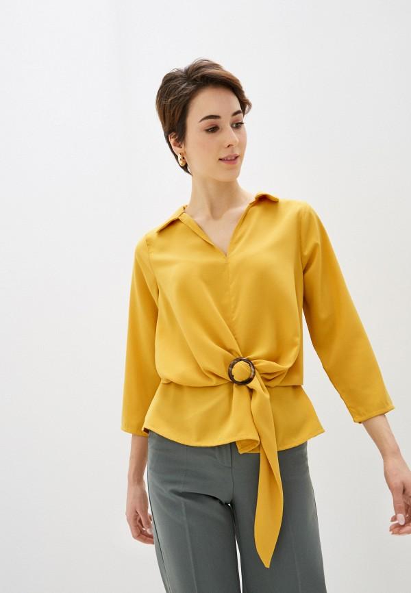 женская блузка code, желтая