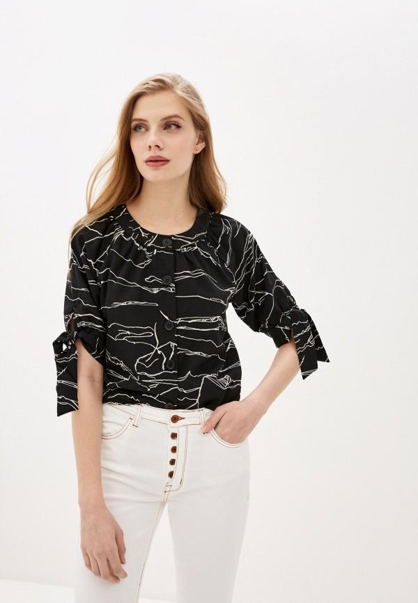 женская блузка code, черная