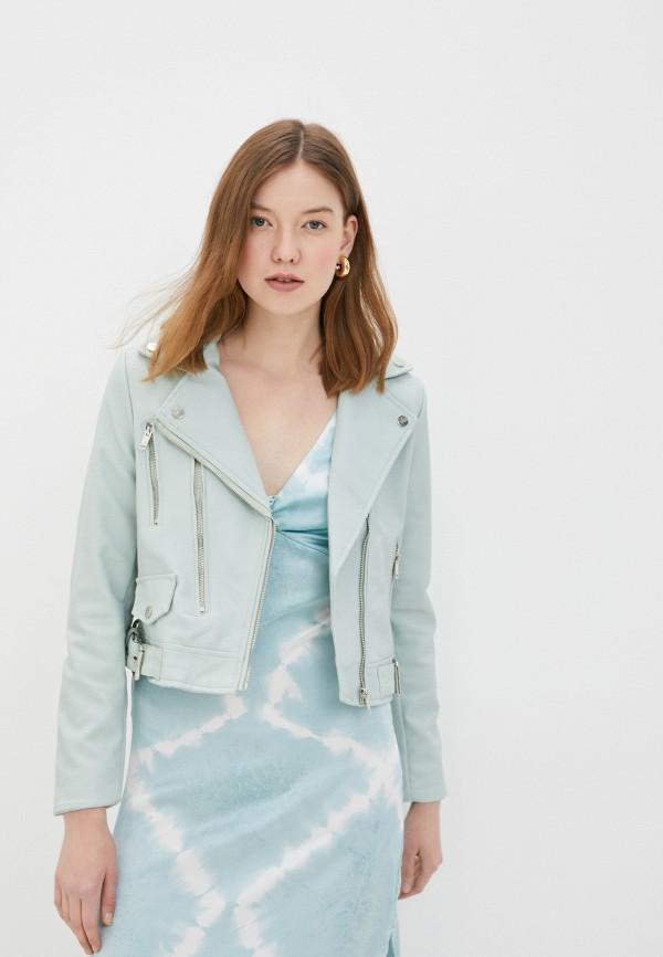 женская куртка code, голубая