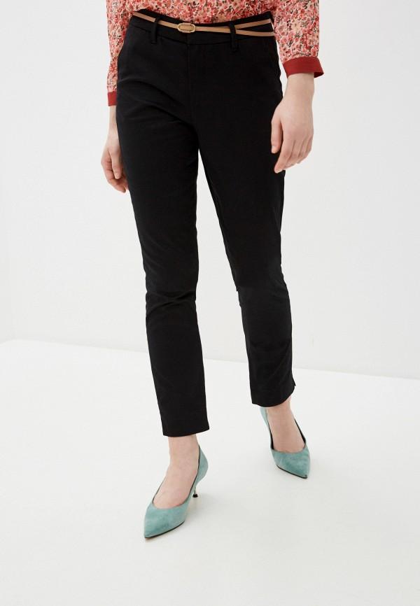 женские повседневные брюки code, черные