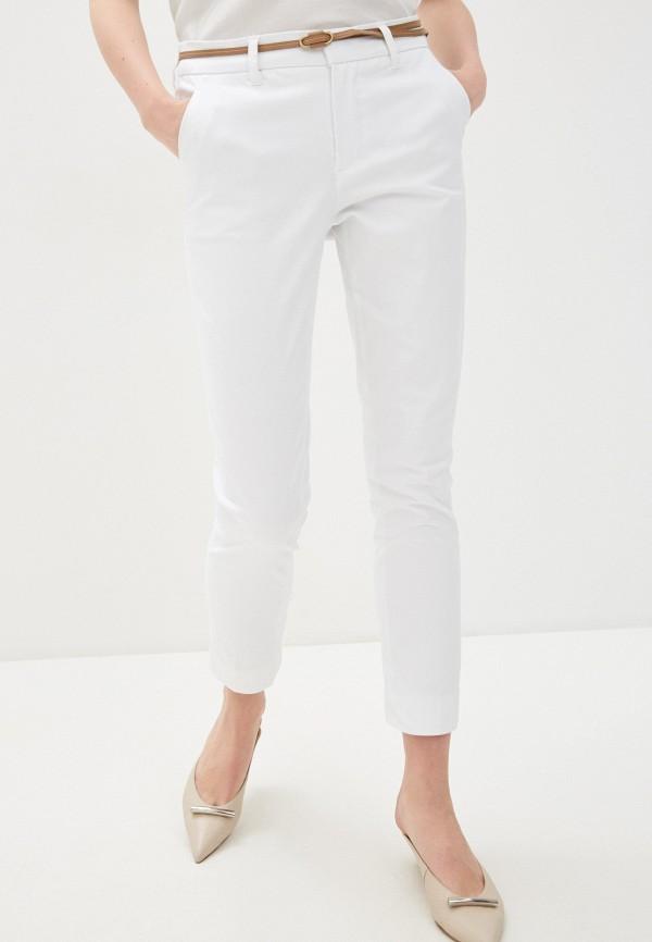 женские повседневные брюки code, белые