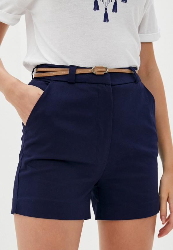 женские повседневные шорты code, синие