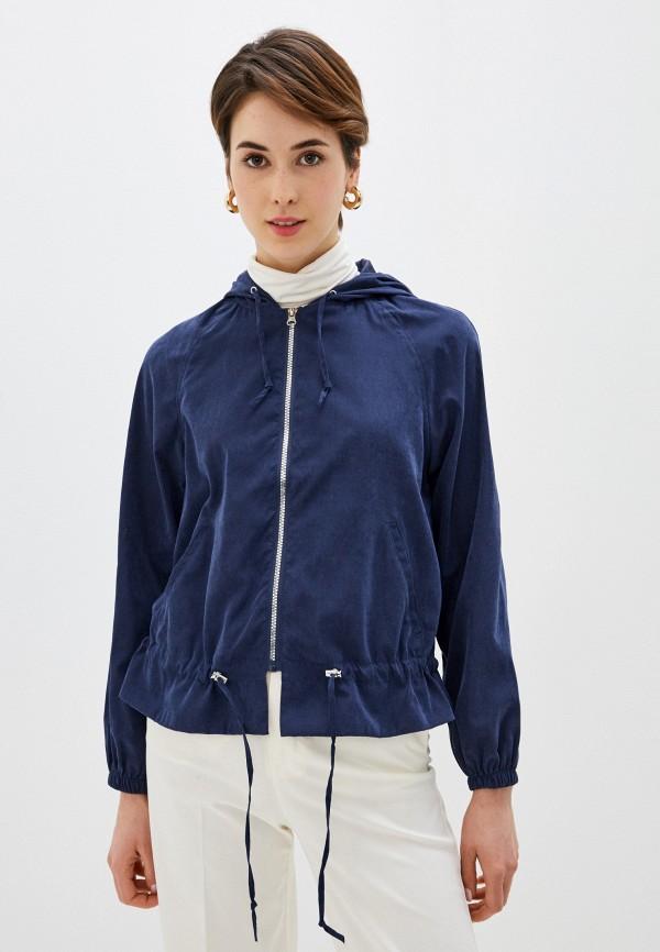 женская куртка code, синяя