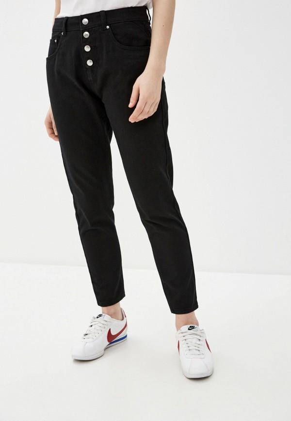 женские джинсы code, черные