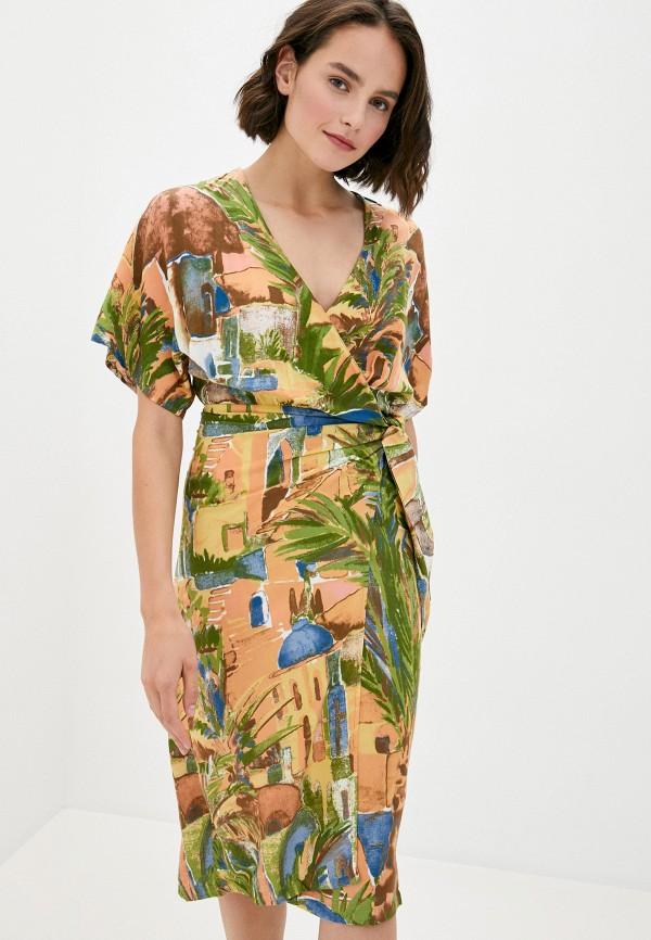 женское платье code, разноцветное