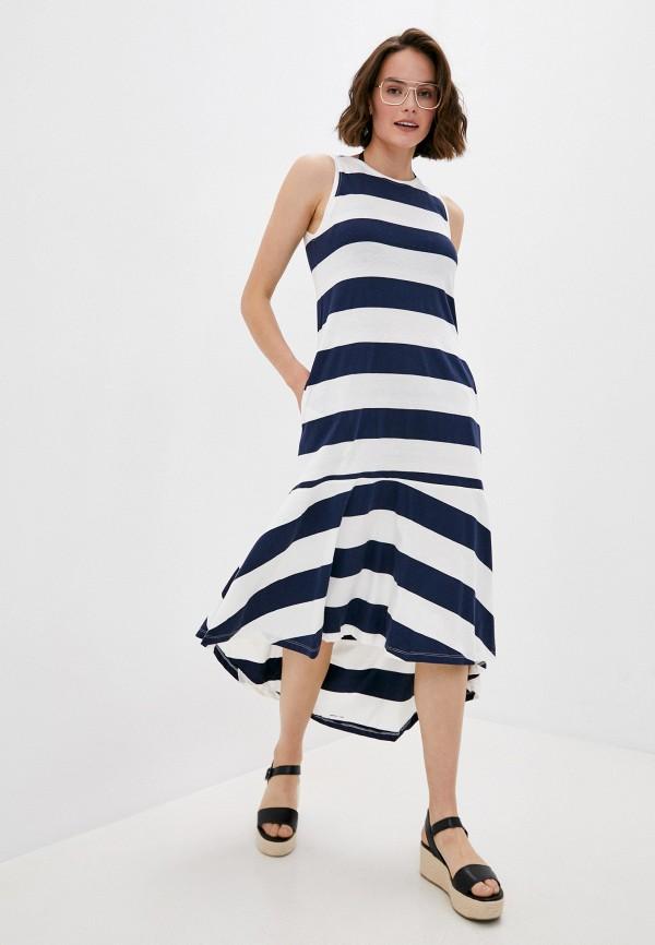 женское платье code, синее