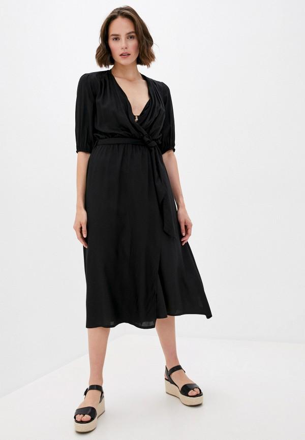 женское платье code, черное