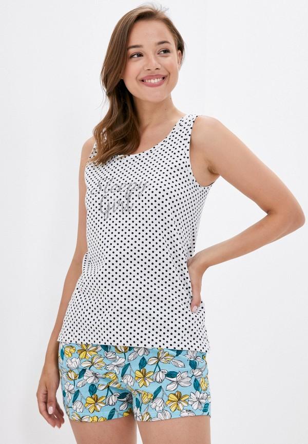 женская пижама code, разноцветная