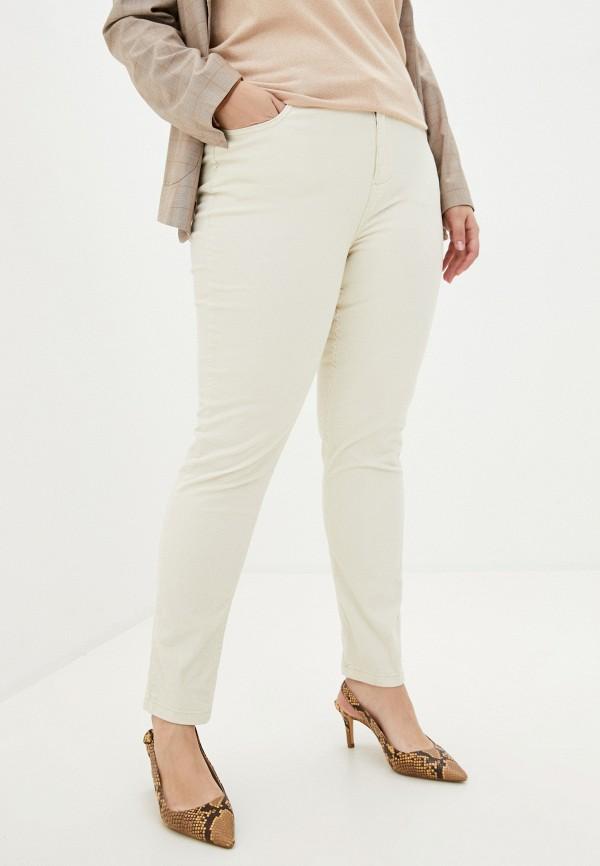 женские повседневные брюки code, бежевые