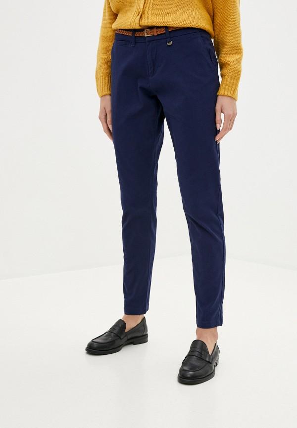 женские повседневные брюки code, синие