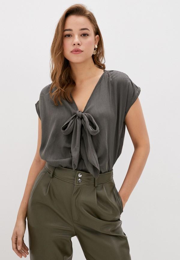 женская блузка code, хаки