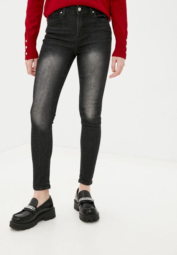женские джинсы code, серые