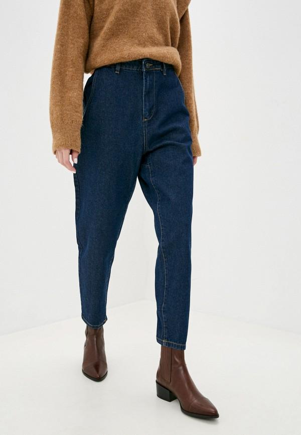 женские джинсы code, синие