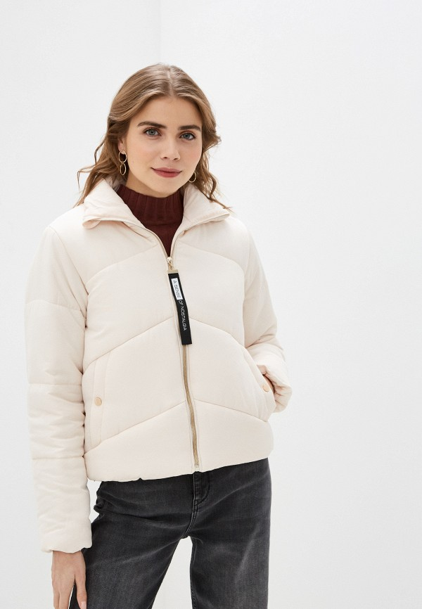 женская куртка code, бежевая