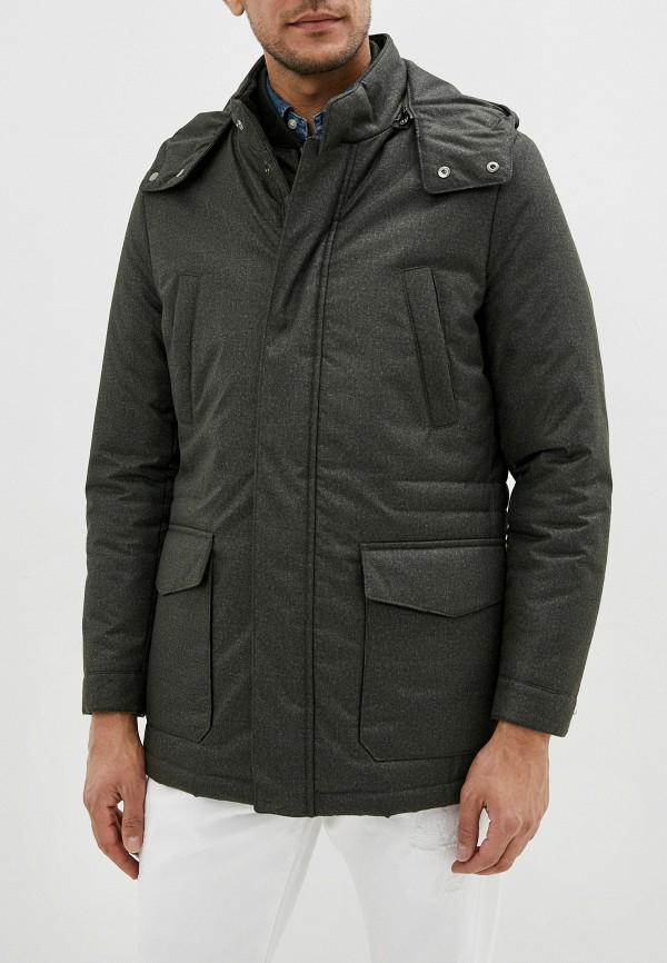 мужская куртка corneliani, хаки