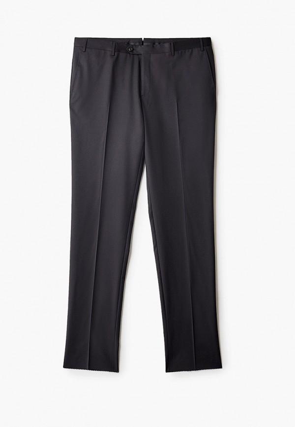 мужские классические брюки corneliani, черные
