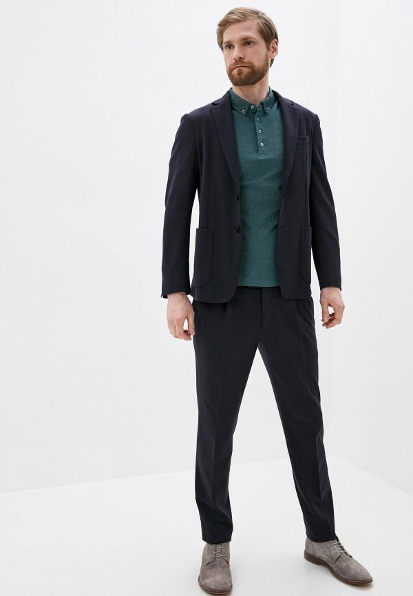 мужской классические костюм corneliani, синий