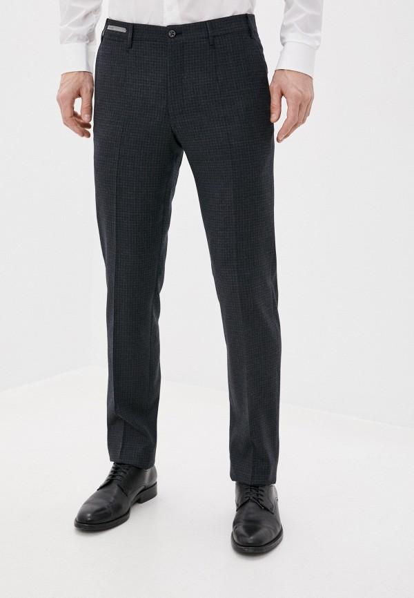 мужские классические брюки corneliani, серые