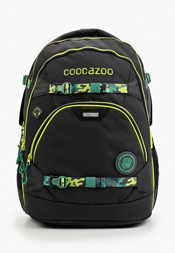 рюкзак coocazoo для мальчика, черный