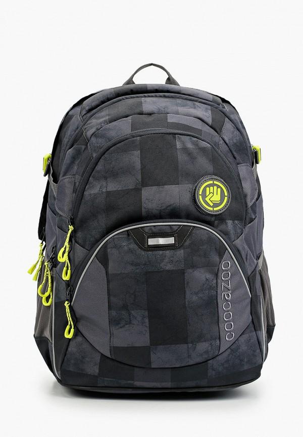 рюкзак coocazoo для мальчика, серый